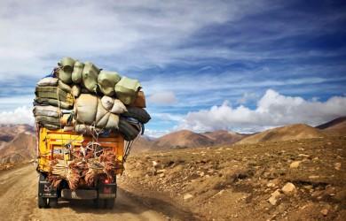 Camion-sobrecarga