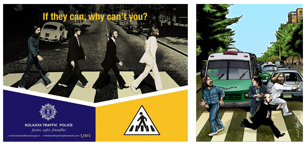 Abbey Road Seguridad Vial