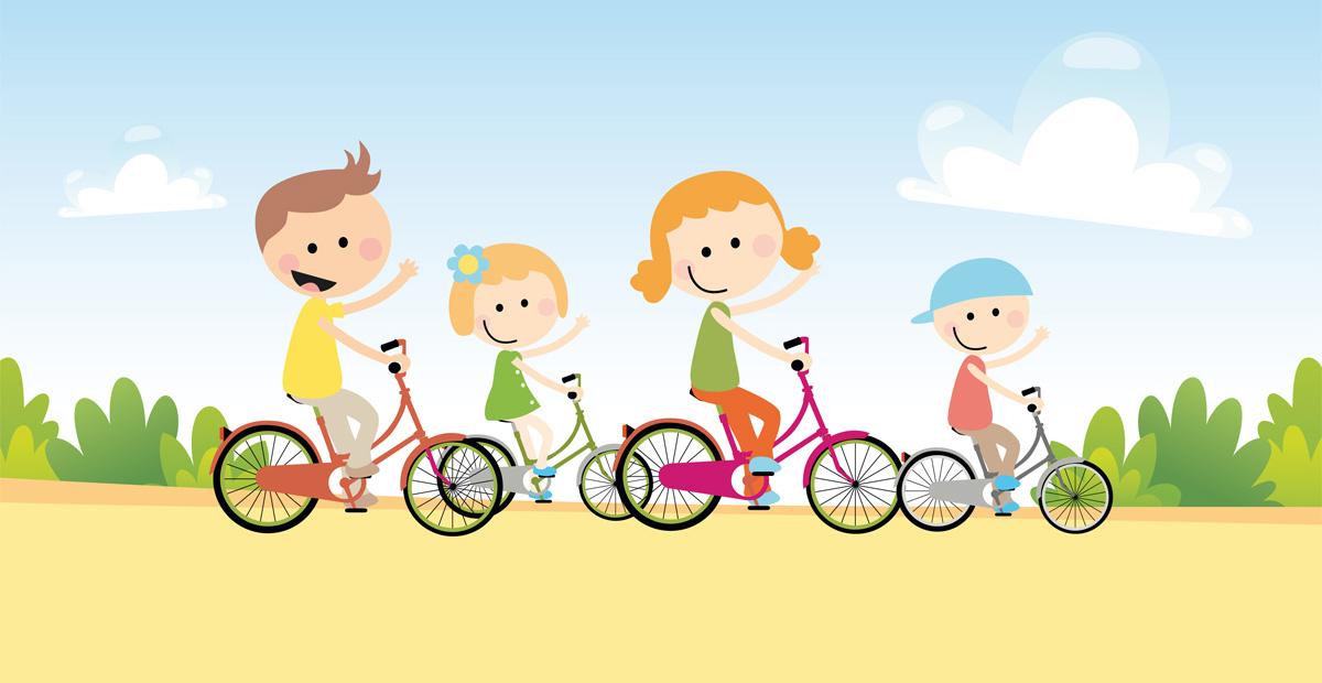 Juegos para niños con la bici