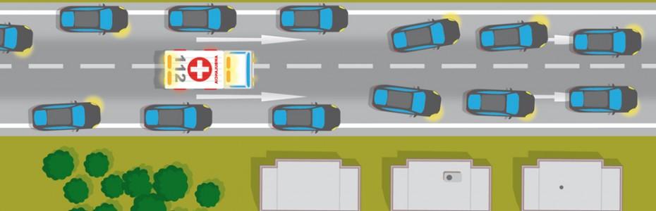 Corredores de emergencia 2 carriles