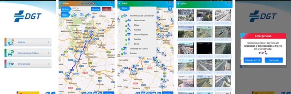 aplicación móvil DGT