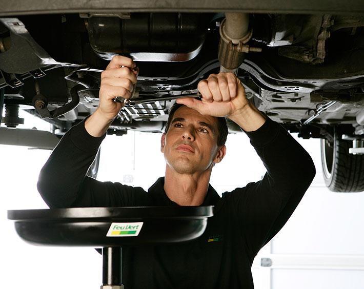 reparación taller mecanico feu vert