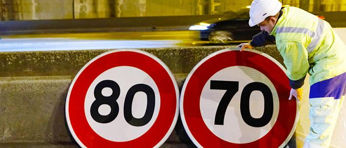 cambio de señales de trafico