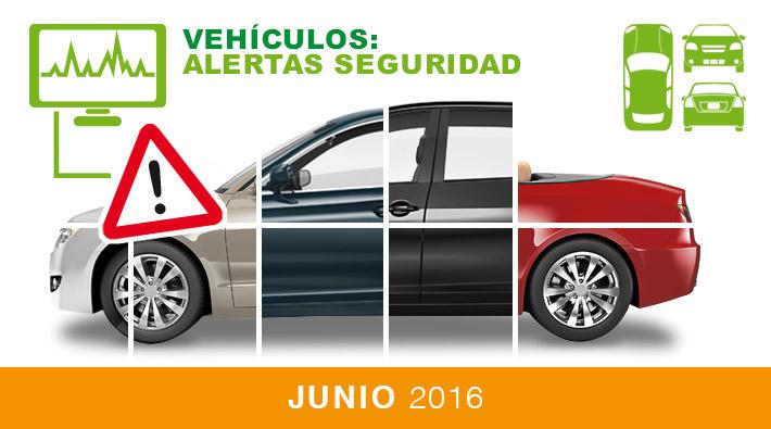 Alertas de seguridad vehículos