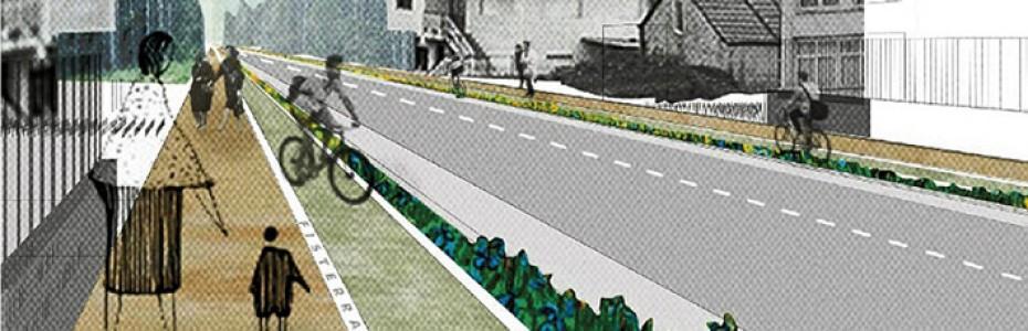 calle bicicleta