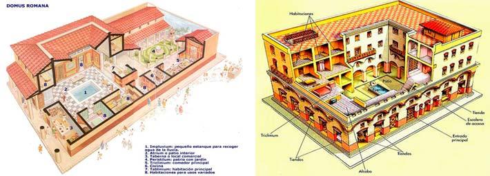 casas-romanas