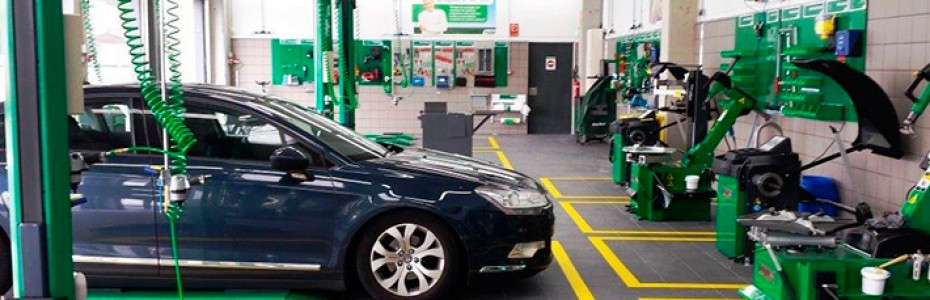 cambio ruedas y aceite coche