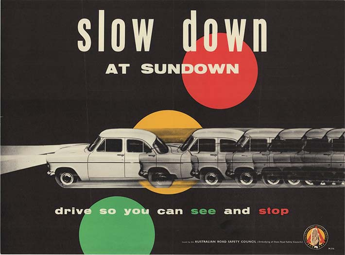 slow down at sundown