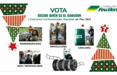 Concurso cortos Navidad Feu Vert