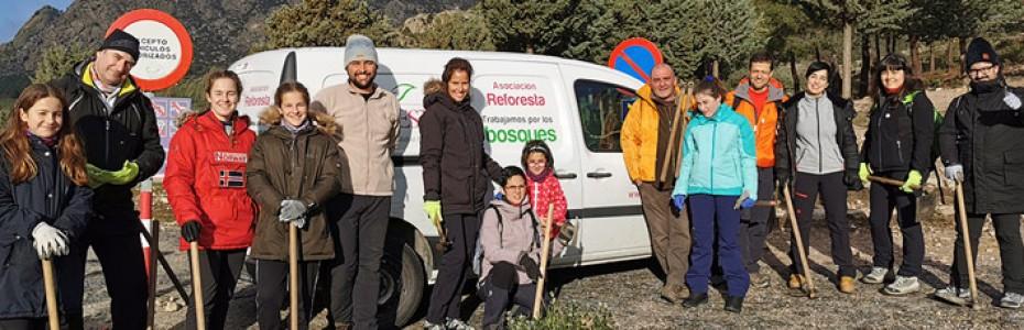 Fundación Feu Vert arranca 2020 con una jornada de reforestación