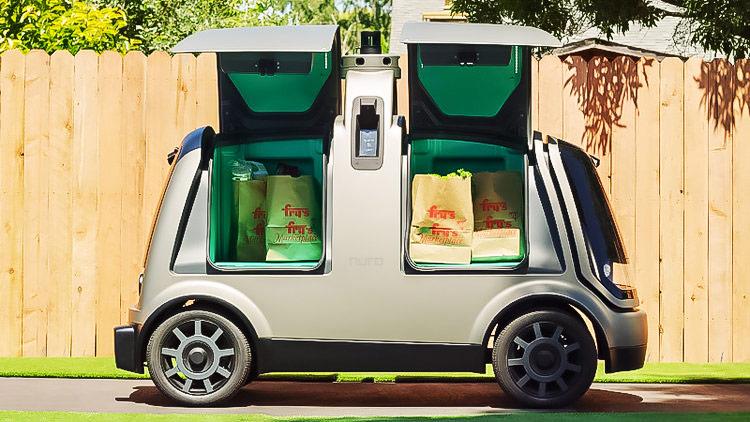 Estados Unidos autoriza la comercialización y circulación de Nuro R2, el primer vehículo de reparto sin conductor