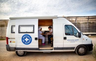 Fundación Feu Vert asume el mantenimiento de los vehículos de Médicos del Mundo España