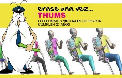 Érase una vez… THUMS. Los dummies virtuales de Toyota cumplen 20 años