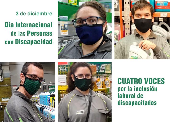 Feu Vert Murcia: Cuatro voces por  la inclusión laboral de discapacitados