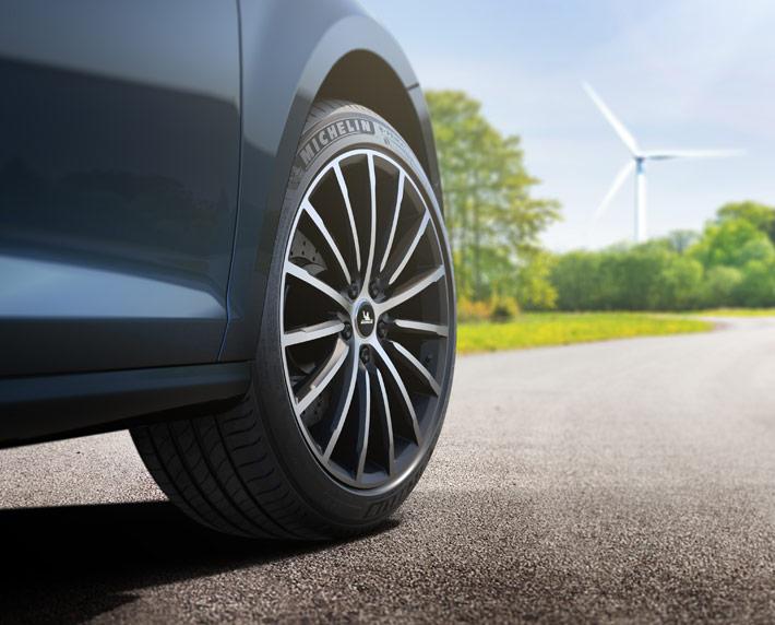 Nuevo neumático Michelin e.Primacy:  eco-responsable y más duradero