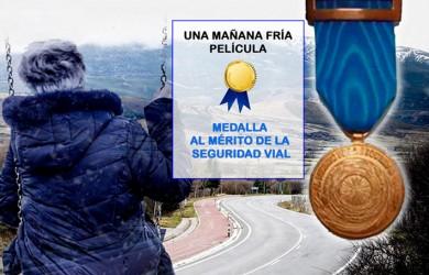 """Las víctimas de los siniestros de tráfico camino de los Goya 2021, gracias a """"Una mañana fría"""""""