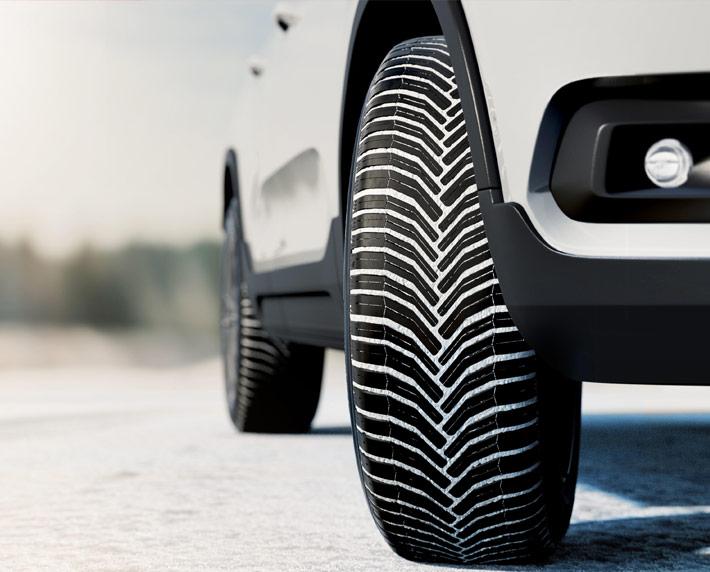 Los neumáticos con certificación invernal, los más seguros para rodar los meses fríos