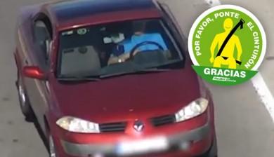 Muy preocupante: Un 7% más de conductores y ocupantes de vehículos sin cinturón de seguridad