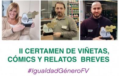 Entregados los premios del II Certamen sobre Igualdad de Género en Feu Vert
