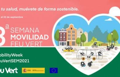 Feu Vert vuelve a adherirse a la Semana Europea de la Movilidad