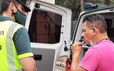 Tráfico intensifica los controles de alcohol y drogas