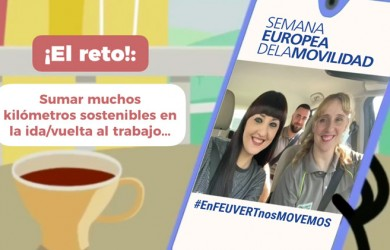 Los empleados de Feu Vert vuelven a participar en la Semana Europea de la Movilidad