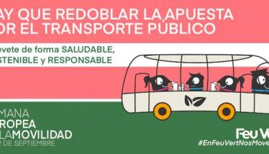 Transporte público, el gran aliado sostenible de la seguridad vial