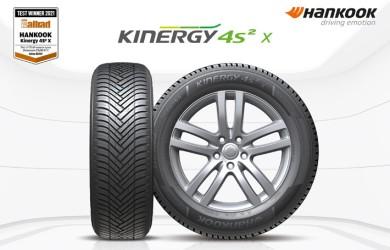Los neumáticos all season Hankook Kinergy 4S2 X para SUV ganan la prueba Auto Bild Allrad 2021